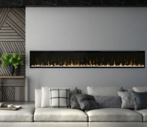 XLF100 Dimplex IgniteXL Wal Mount Linear Electric Fireplace