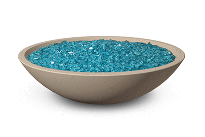 AFD 32-in Cafe Blanco Marseille Fire Bowl