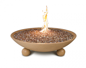 AFD 48-in Versailles Sedona Fire Bowl