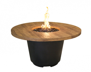 AFD FBO Cosmo Round Chat Height Fire Table