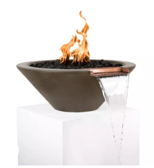 Outdoor Plus Cazo Fire & Water Bowl