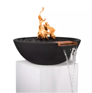 Outdoor Plus 27-in Sedona Fire & Water Bowl