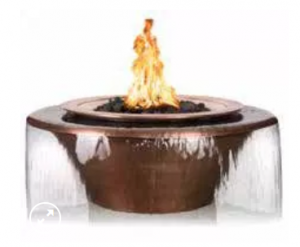 Outdoor Plus 30-in Cazo 360 Fire & Water Bowl