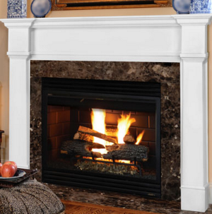 Pearl 550 Richmond White Mantel