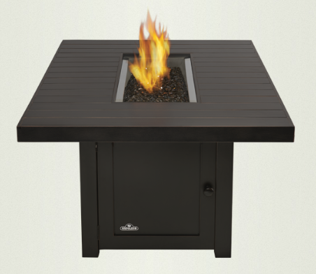 Napoleon St Tropez Rectangle Patioflame Fire Table Custom Home Fireplaces