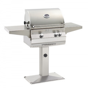 Fire Magic Aurora A430s Patio Post Mount Gas Grill analog therm