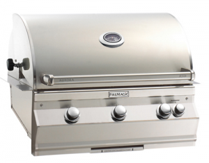 Fire Magic Aurora A540i Built-in Gas Grill analog therm