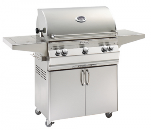 Fire Magic Aurora A540s Portable Gas Grill analog therm