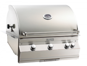 Fire Magic Aurora A660i Built-in Gas Grill analog therm