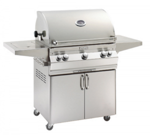 Fire Magic Aurora A660s Portable Gas Grill analog therm