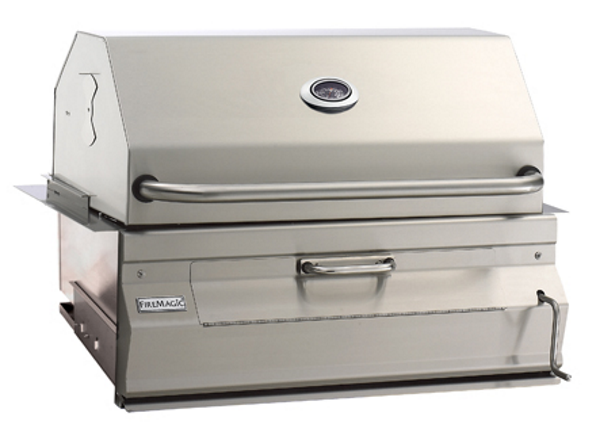 Fire Magic Legacy Built-in Charcoal Grill with Smoker