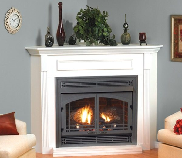 Empire Vail Vent Free Gas Fireplace, Ventless Natural Gas Fireplace With Mantle