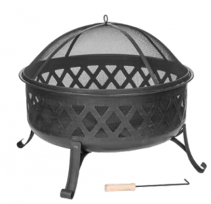 Dagan Diamond Wood Fire Pit