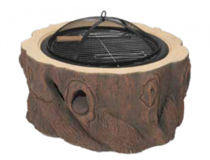 Dagan Wood Stump Fire Pit