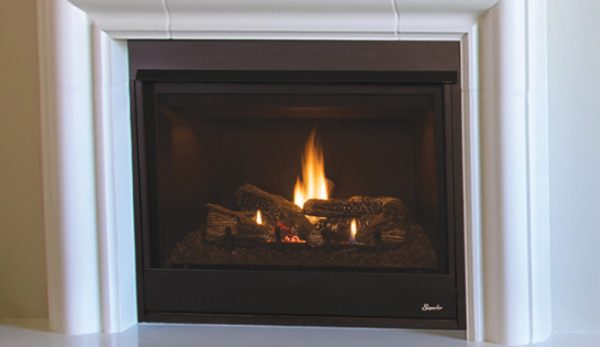 Superior Pro 45 Traditional Front Open, Open Gas Fireplace Indoor