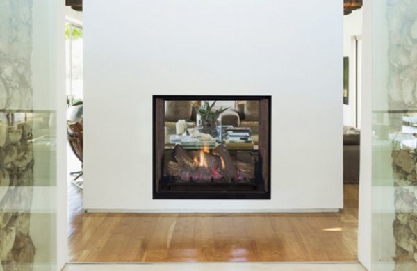 Superior 63 Clean Face Traditional See, See Through Gas Fireplace Ideas